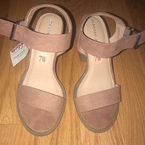 Shoes - Madden girl suede heels